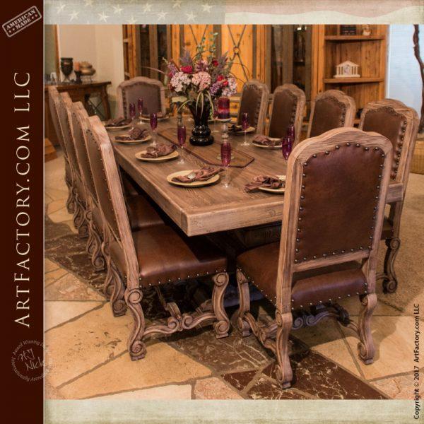 Custom Built Dining Room Tables: Custom Dining Room Furniture