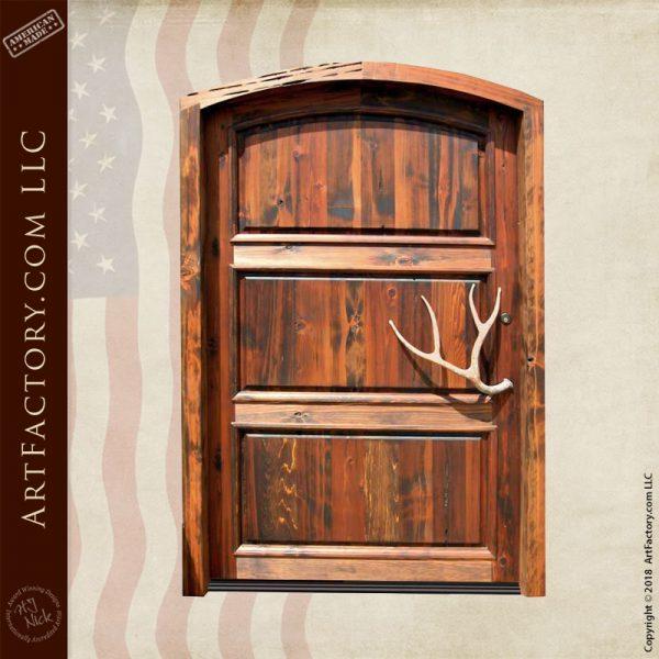 3 panel lodge door
