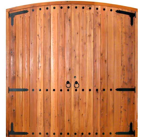 Arched Garage Doors Garage Door Solid Wood Custom Wood
