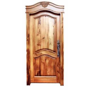 custom Tuscan style door