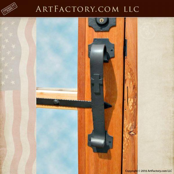 Knights Templar inspired door pull