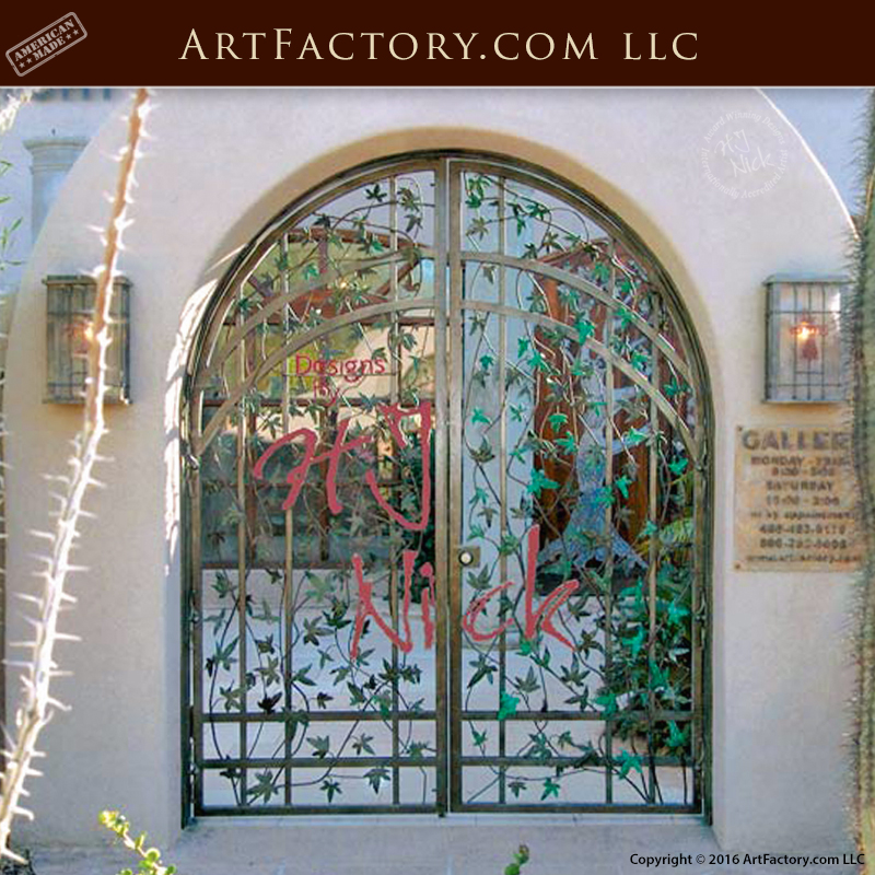 personalized grand entrance gate