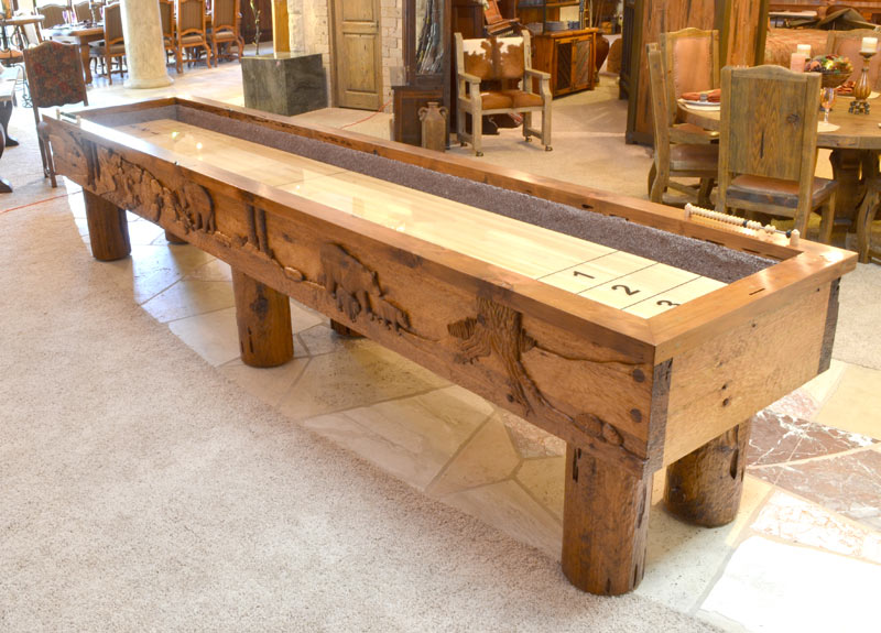 Shuffleboard Table Shuffleboards Lodge Shuffleboard Tables