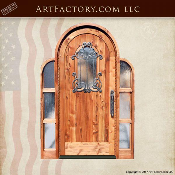 full arch top door
