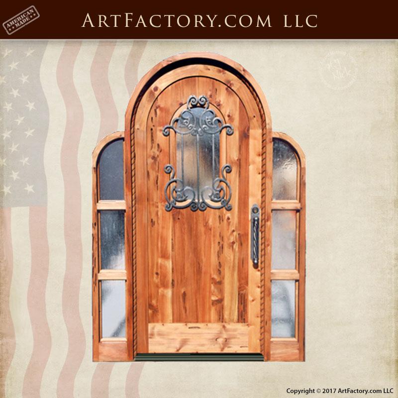 cool full arch top door custom seeded glass speakeasy and sidelights u gp with speakeasy door. & Speakeasy Door. Interesting Traditional Crafstman Entry Mahogany ...