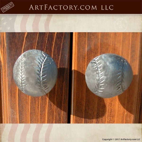 Cabinet Knobs Custom Baseball Cabinet Pulls