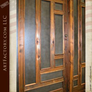 craftsman style entrance doors