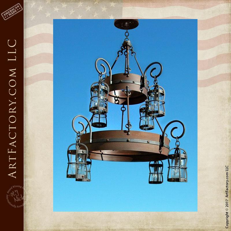 custom gothic chandelier