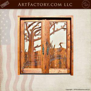 custom swampland double doors