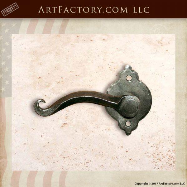 old world door handle