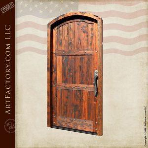 three panel plank door