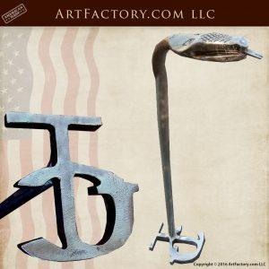 Hand Forged Serpent Branding Iron