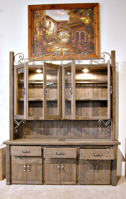 China Cabinet Kitchen Hutch Sideboard Luxury Dining