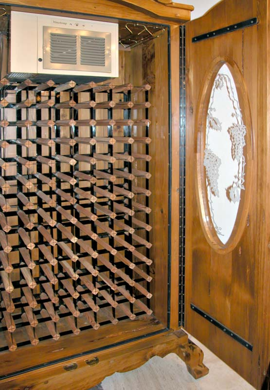French Wine Cabinet Wine Display Cabinet Dining Room
