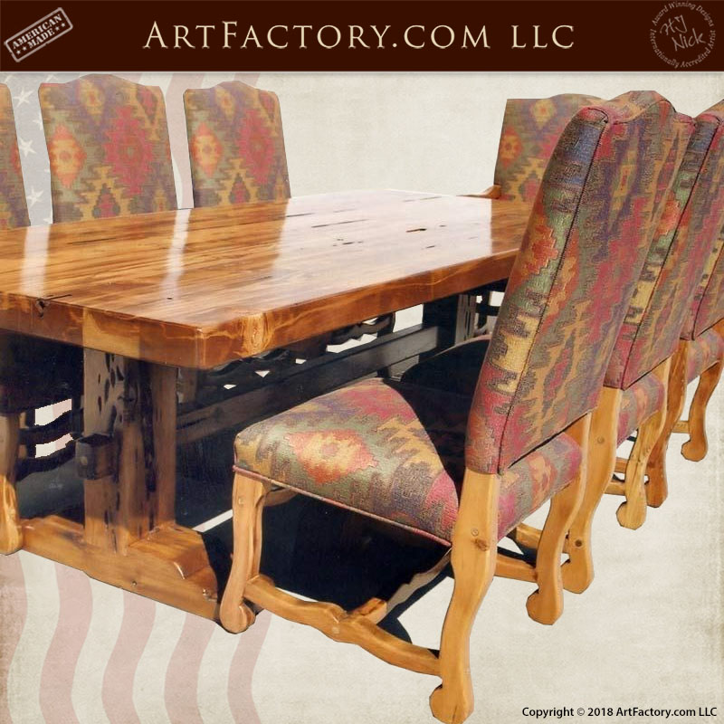 fine art castle dining table