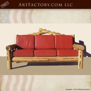 master hand carved sofa