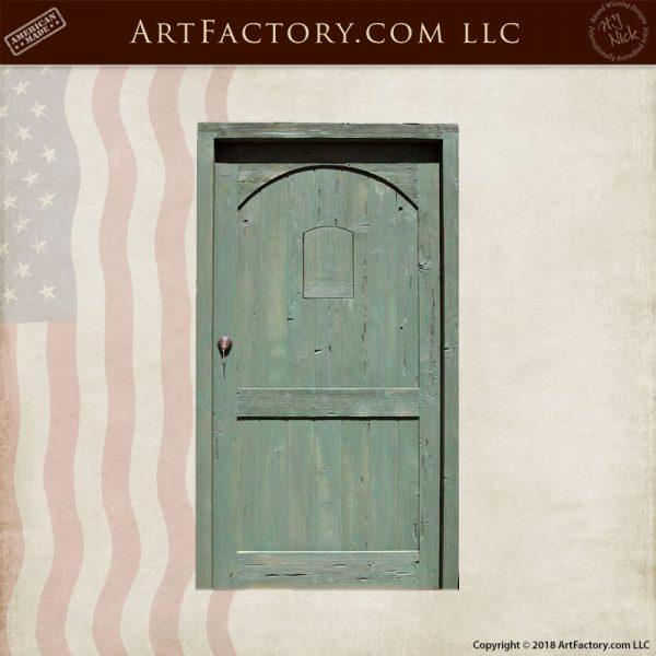 rustic farm house door