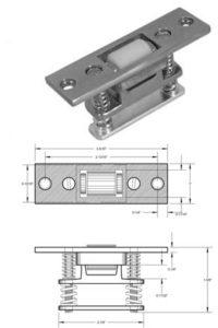 roller style door latch