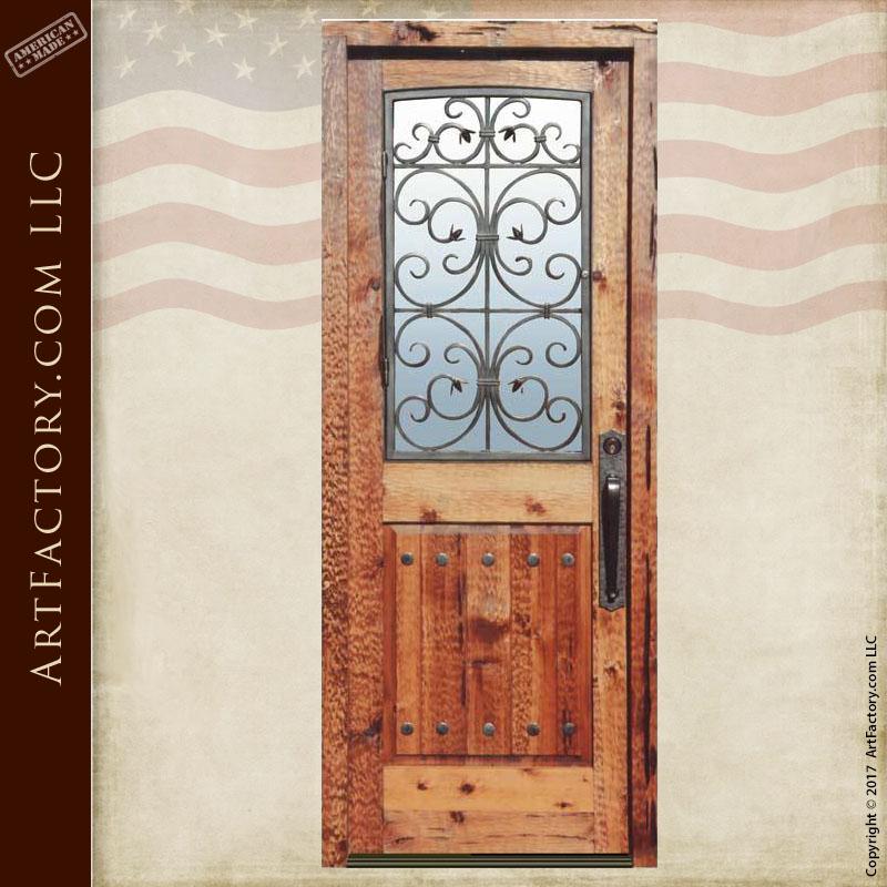 custom Dutch front door