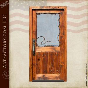 custom western cowboy door