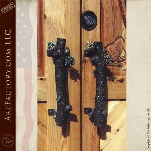 pine cone door handles