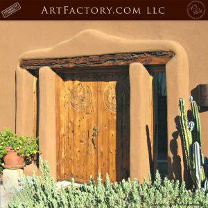 Desert Quail Double Doors