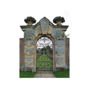 castle garden gate