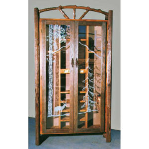 Cue Cabinet Wilderness Theme Made In USA Since 1913
