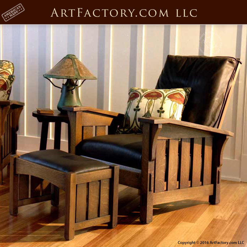Craftsman Style Morris Chair U2013 Genuine William Morris Design U2013 MCJ423