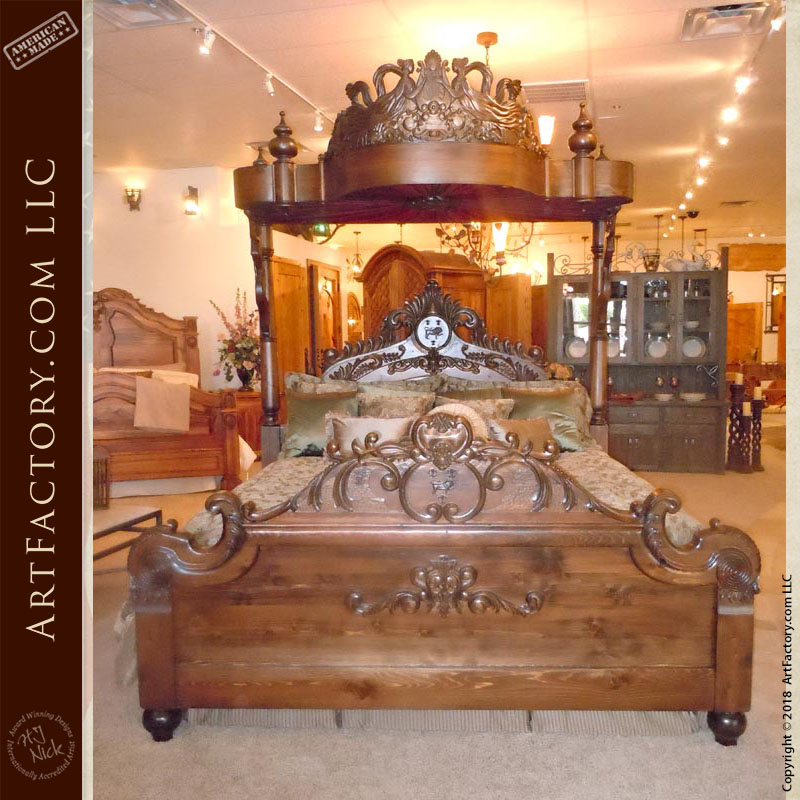 custom-carved-canopy-bed-3