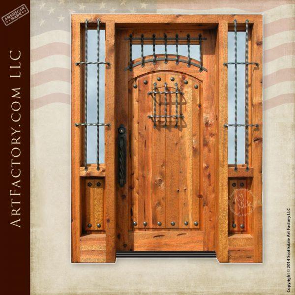 English castle door