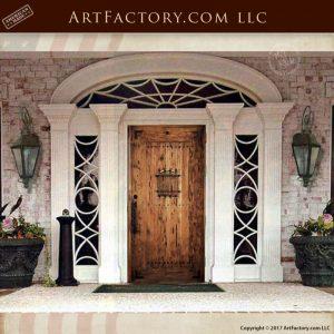 weathered planked speakeasy door