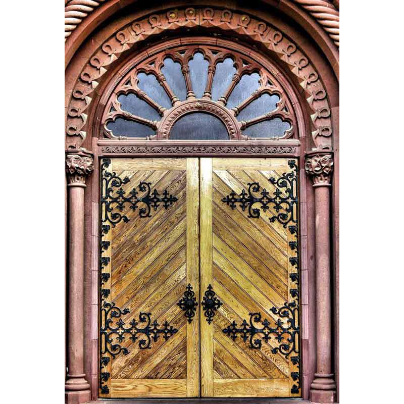 Doors \u2013 Smithsonian Castle 19th Century America \u2013 1882SCJ  sc 1 st  Scottsdale Art Factory & Smithsonian Castle Doors - Replica Castle Doors Original Craft