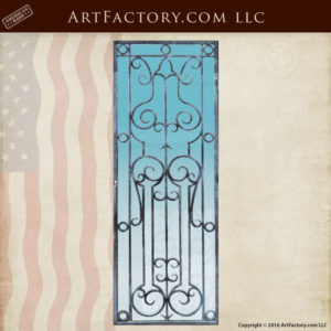 Door Grills Hand Forged Decorative Grill