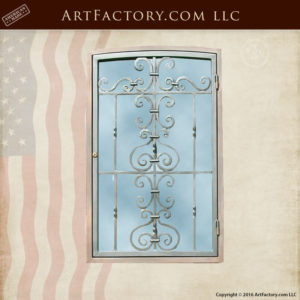 Forged Iron Door Grill