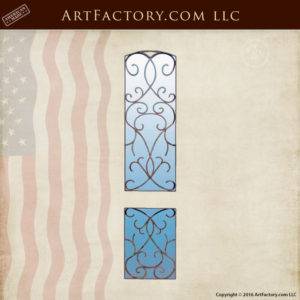 Stationary Ornamental Security Panels