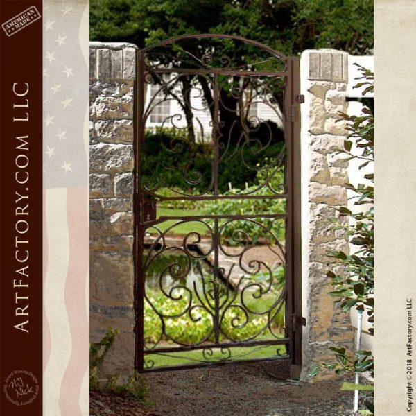 custom iron side gate