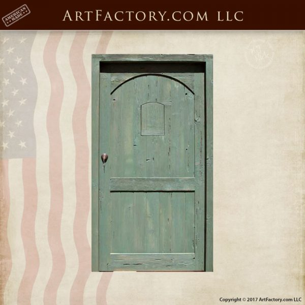 Custom Solid Wood Entry Gate