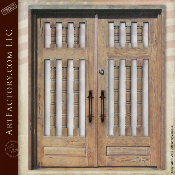 Custom Spindle Style Door