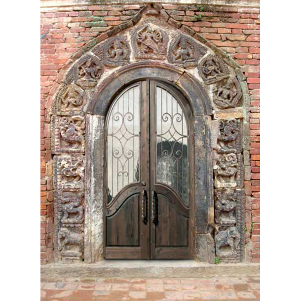 Entry Doors \u2013 Castle Doors \u2013 Sicily 13th Cen \u2013 1330CDJ  sc 1 st  Scottsdale Art Factory & Entry Doors - Double Castle Church Door Designs | Solid Wood Custom
