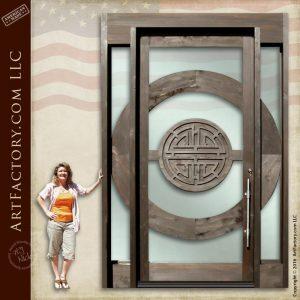 Japanese Custom Design Door