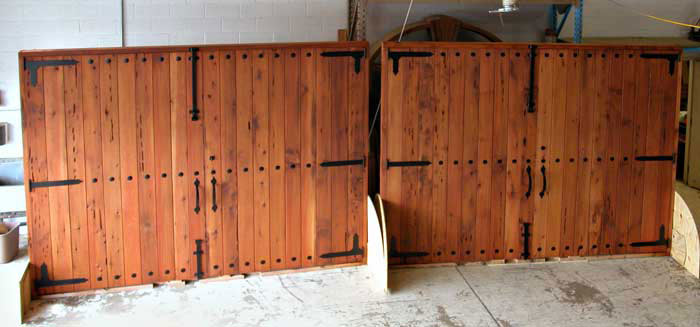 Arched Carriage Doors