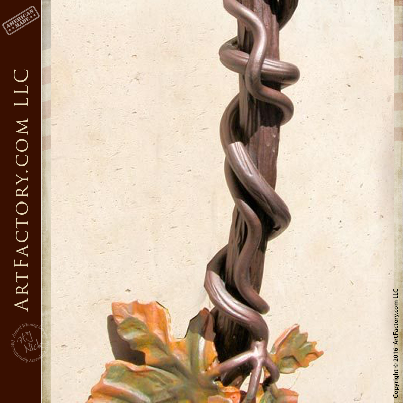Custom Grape Vine Cluster Pulls Hand Forged By Our