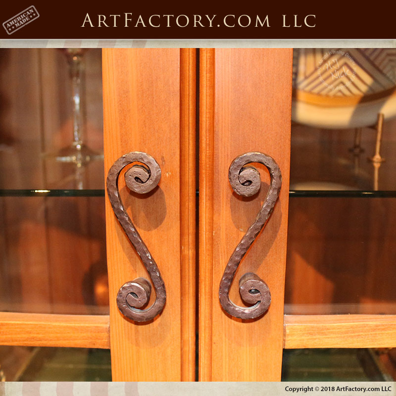 S Scroll Shaped Cabinet Pulls French Style Drawer Handles Hh386