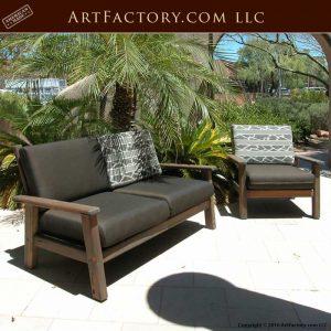 custom wood patio furniture