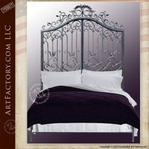 Baroque Iron custom bed