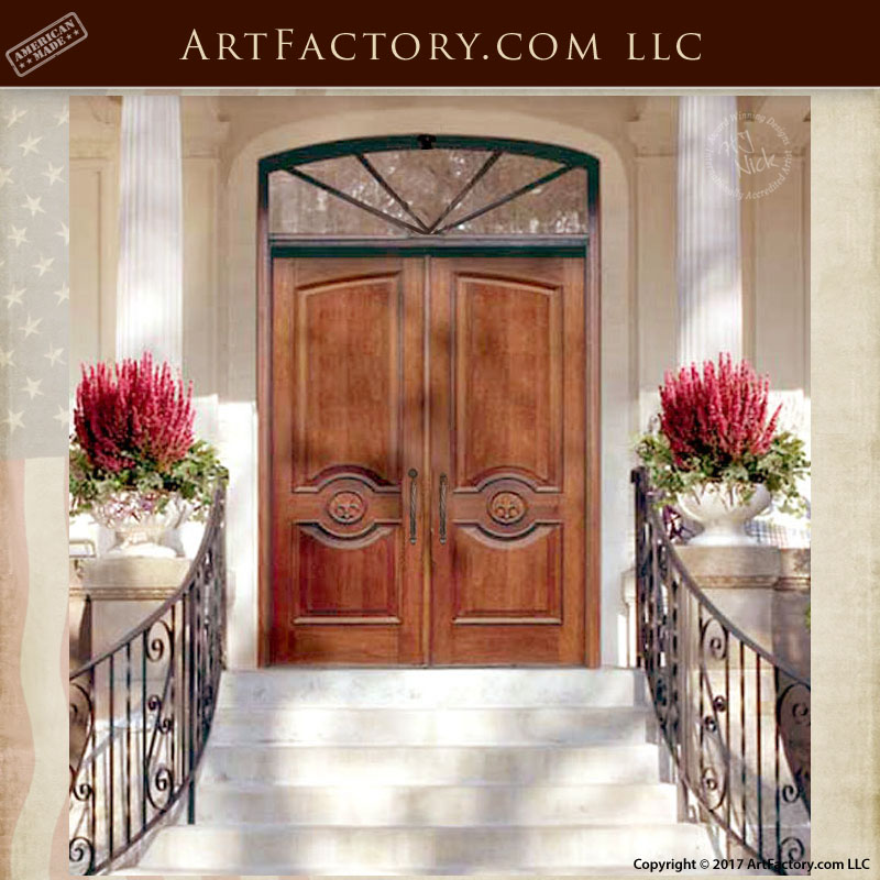 19th Century Inspired Door