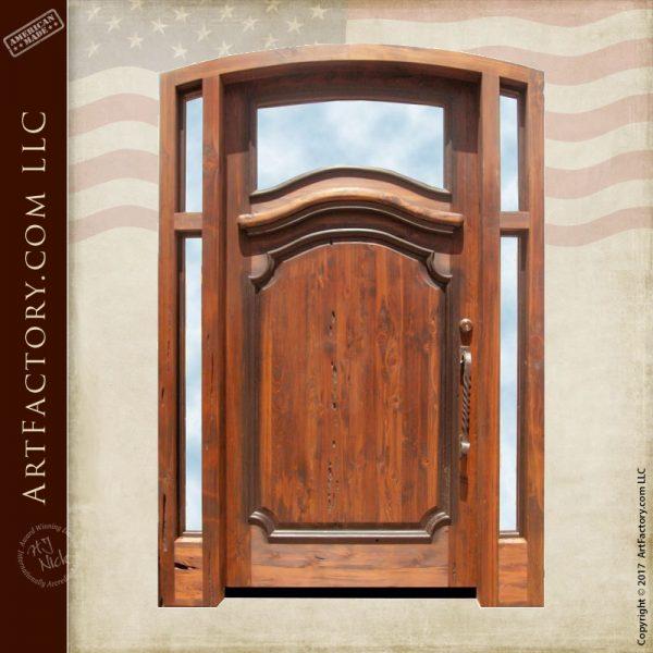 custom front entrance door