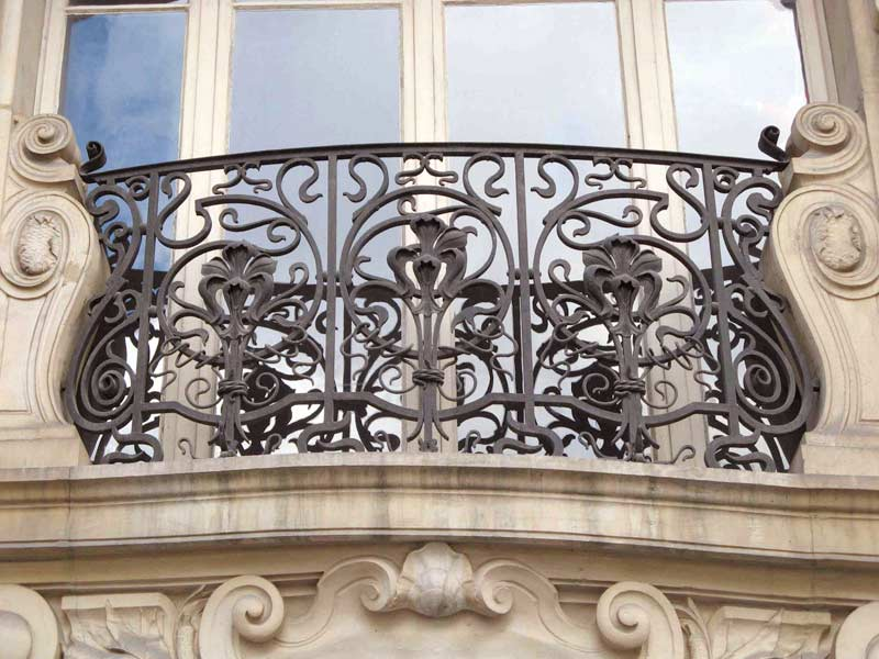 custom railings wrought iron balcony