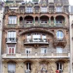 Art Nouveau Door - Design From Antiquity